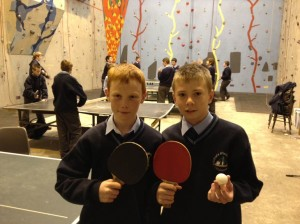 student facilities banner table tennis