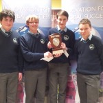 Dara Lawlor, Daniel Lucey, Shane Trant, Callum Myers-1st place in ISTA Junior Science Quiz