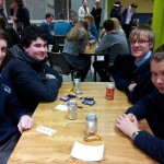 Shane Trant, Dara Lawlor, Daniel Lucey, Callum Myers-1st place in ISTA Junior Science Quiz