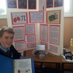 Winner Daniel O'Sullivan with his computer game invention