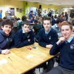 Jack Murphy,  Daniel Keane, Fionnbharr Hickey and Seán O'Shea at ISTA Junior Science Quiz