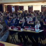 Cathal Swords delegate of the Maldives at MUN