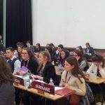 Stephen Walsh O'Connor participating at MUN