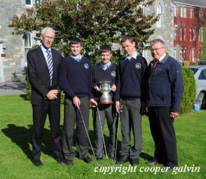 Extra co-curricular munster pitch & putt winners