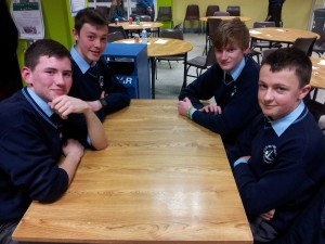 Johnaton O'Rourke, Cian Gammell, Corey Kissane, Cian Tangney who finished joint 3rd.