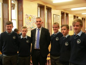 Prof Donal O Shea with his cousins Sep 15