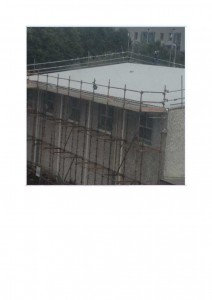 Works on Roof