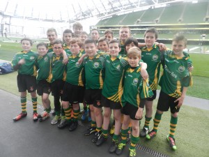 SGrealy 1st yr Team at Aviva