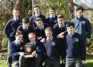 St Brendan's Science Quiz teams Shane Trant, Daniel Lucey, Callum Myers, Dara Lawlor (centre) Jom,es Lynch, James Knoblauch, Jakub Kunicki (back) Sean O'Shea, Fionnbhaee Hickey, Daniel Keane and Jack Murphy winners at the ISTA Science Quiz in Tralee. Photo by Michelle Cooper Galvin