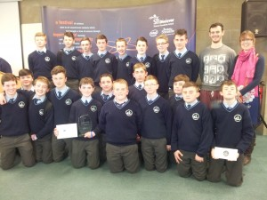 Competitors at SciFest, Kerry Finals, Tralee I.T.