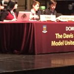 Harry Knoblauch acting as chairperson at MUN